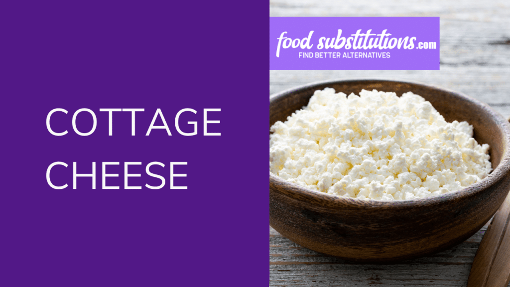 Paneer Substitute - cottage cheese