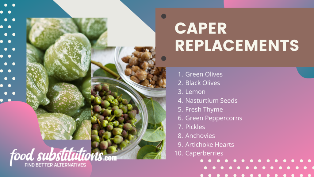 caper alternative and replacements