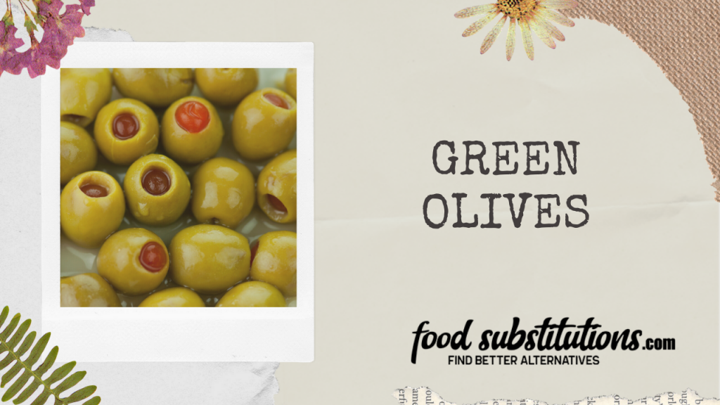 caper substitute - green olives
