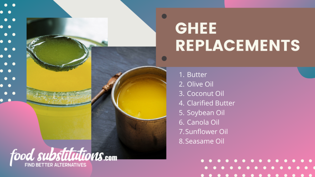 ghee replacement