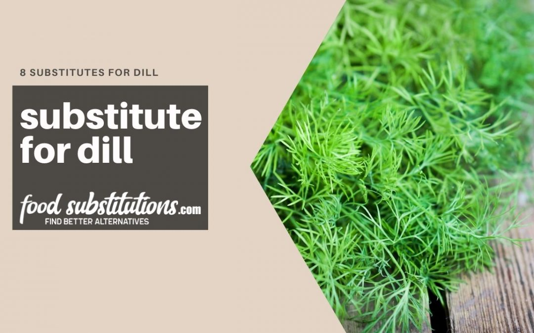 substitute for dill