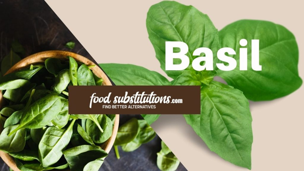 substitute for dill -  basil