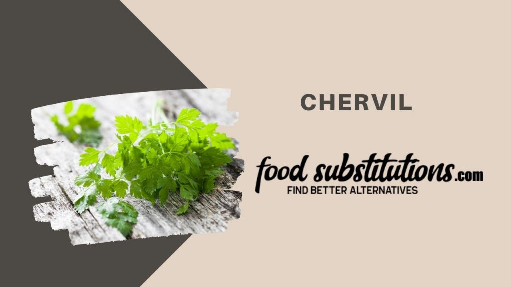 substitute for dill -  chervil